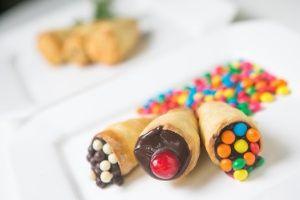Comidinha em cone é opção para festa infantil; aprenda receitas - BOL Fotos - BOL Fotos