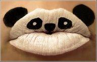Panda lips!