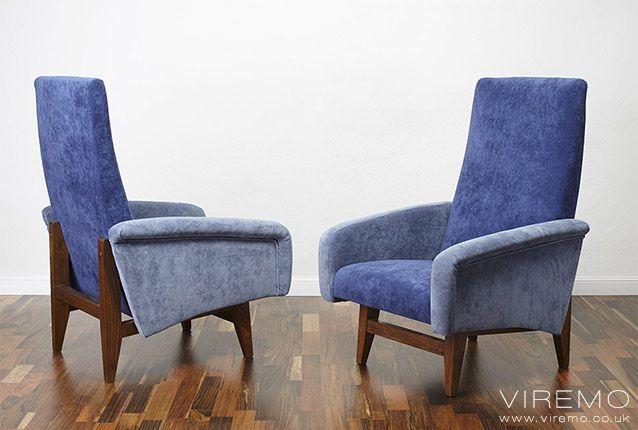 50s 60s 70s Midcentury Vintage Retro Cocktail Chair Super