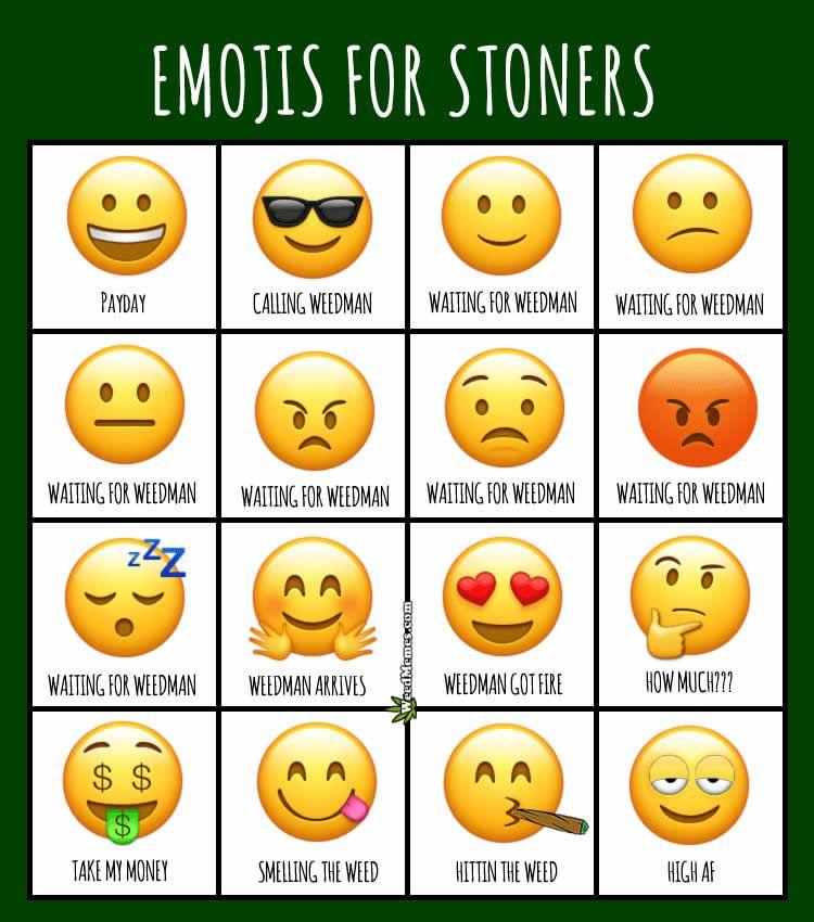 5595dfb39b670b0f601519523283be54 emojis for stoners weedmemes cannabiscommunity 420 pinterest