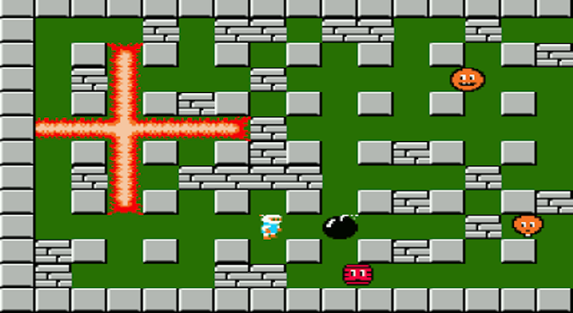 Bomberman Classic Arcade Game And Made Famous On The Nintendo Play As Bomberman To Drop Bombs Trapping Your Opponent