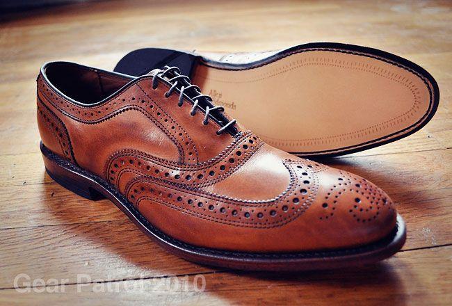 Allen Edmonds McAllister Wing Tip Allen edmonds sko  Allen edmonds shoes
