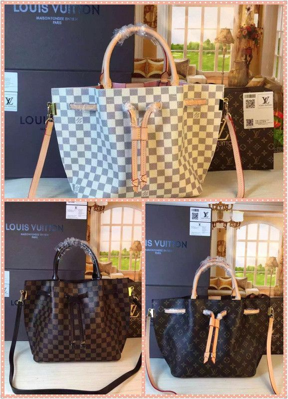 0d1aad976b00 Louis Vuitton Canvas Damier Girolata Tote Bag(multiple styles ...