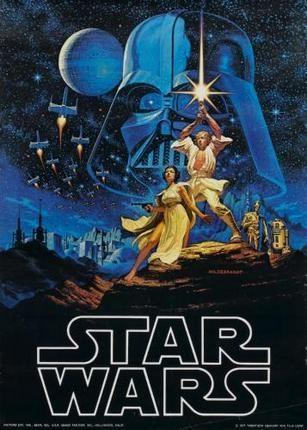 Star Wars Movie Poster 24inx36in