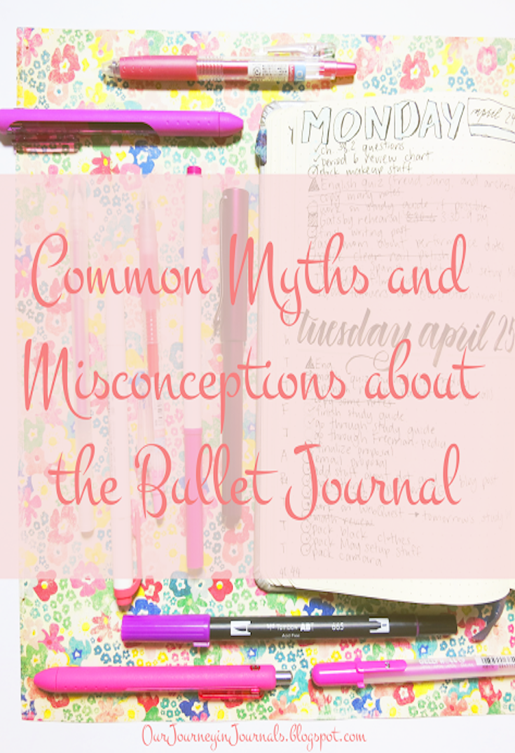 Common Myths and Misconceptions about the Bullet Journal