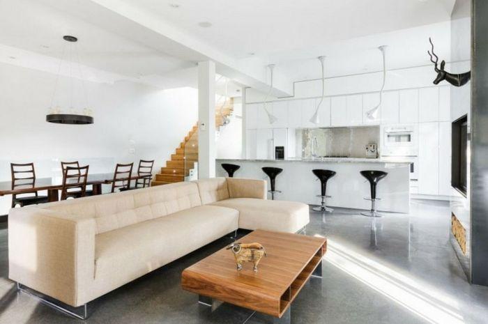 ▷ 1001 + ideas de decorar las cocinas abiertas al salón   Cocinas ...