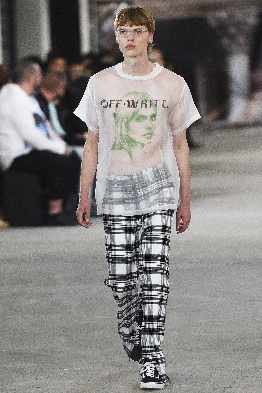 Off-White Spring 2017 Menswear Fashion Show