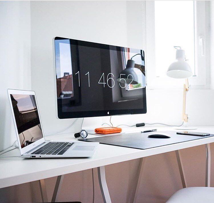 minimal setup appledesk apple imac iphone appletv macbook applewatch perfectsetup. Black Bedroom Furniture Sets. Home Design Ideas