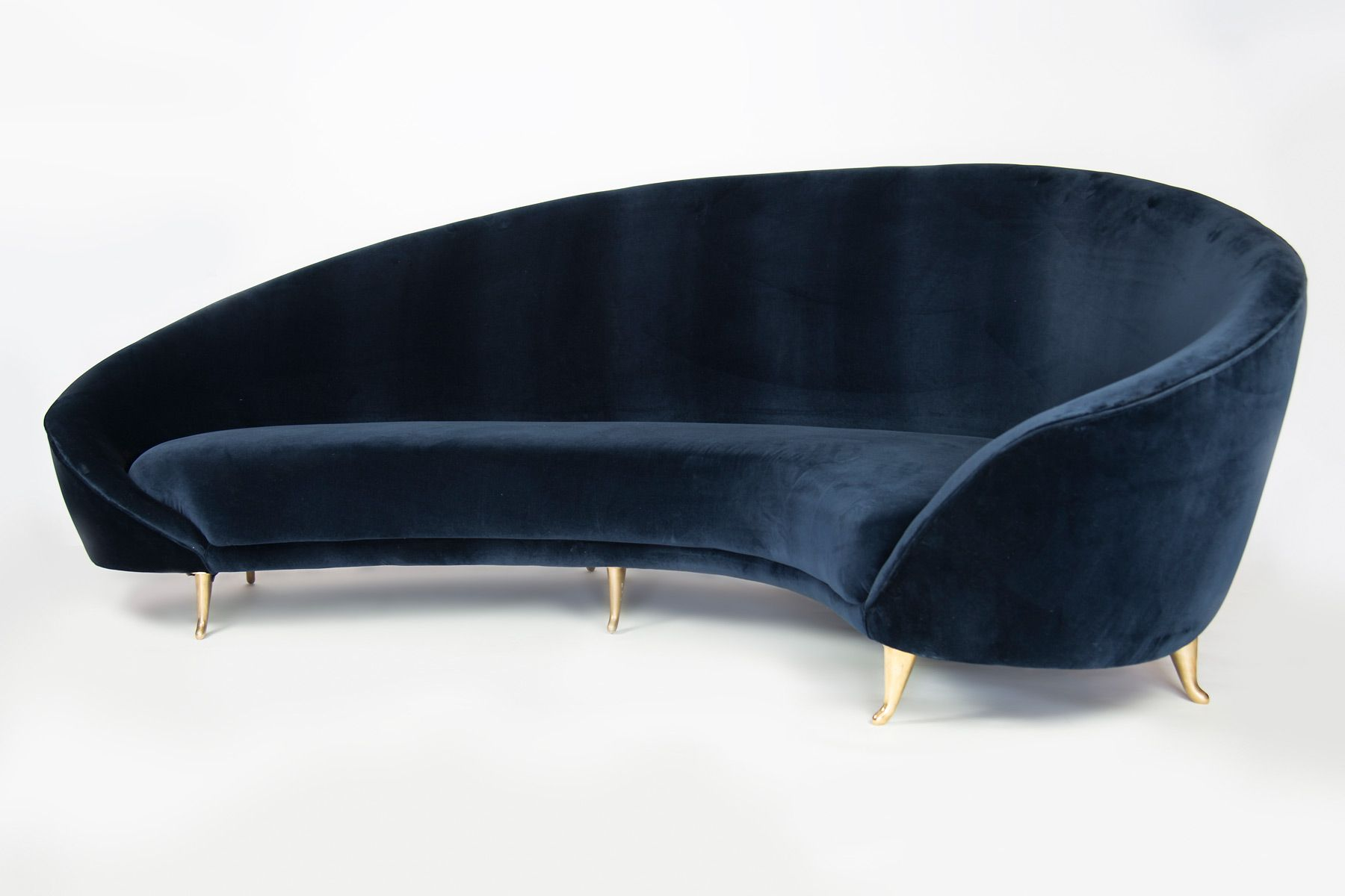 Curved Sofa On Pinterest Milo Baughman Modern Sofa And Round Sofa