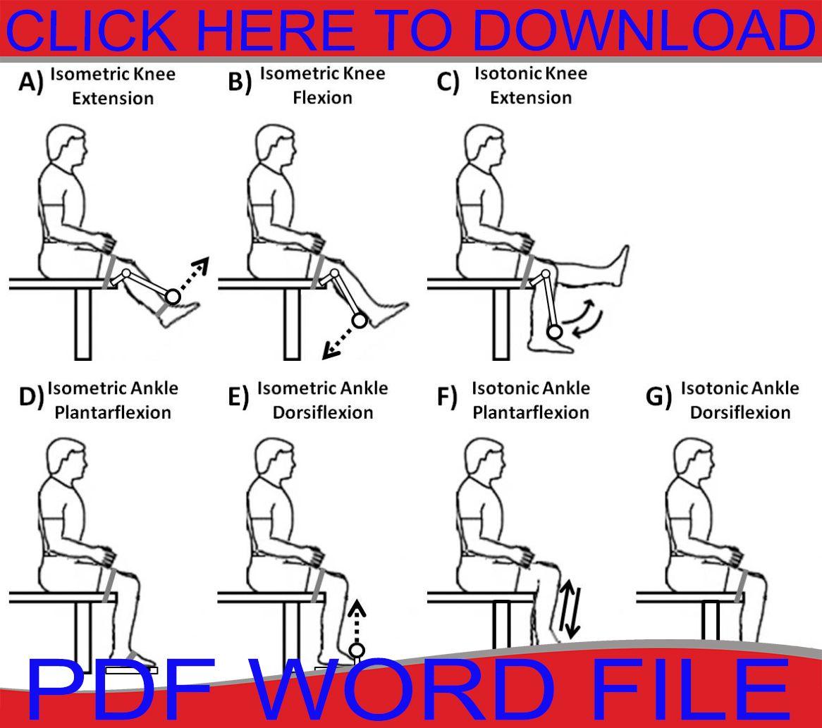 Isometric Exercise manual Pdf