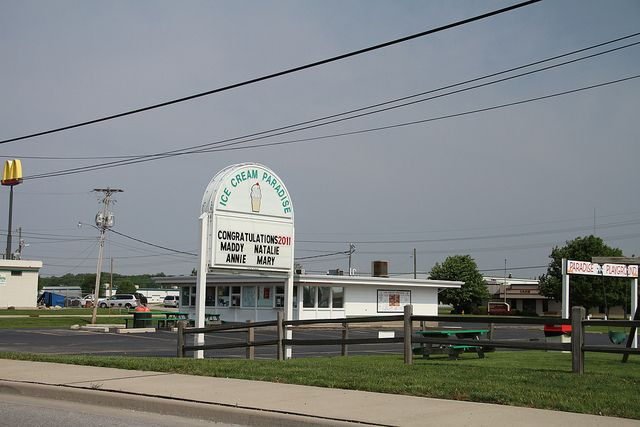 Who doesn't love ICP?  Reason why I miss Lebanon, Indiana!!!! I always stop here when I come home.