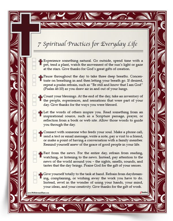 60 Spiritual Practices For Everyday Life Download A List Of Cool Download Spiritual Pics