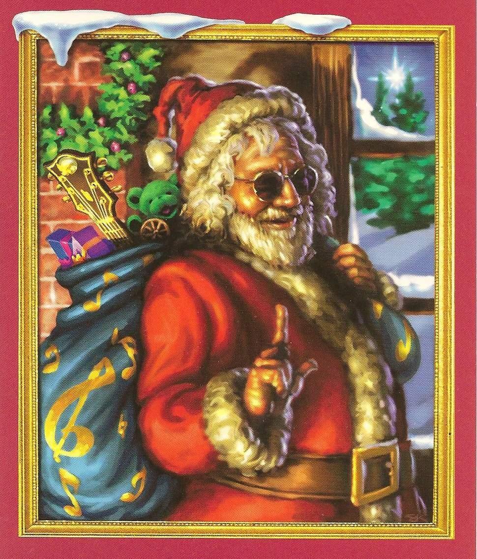 jerry garcia as santa   Pictures   Pinterest   Santa