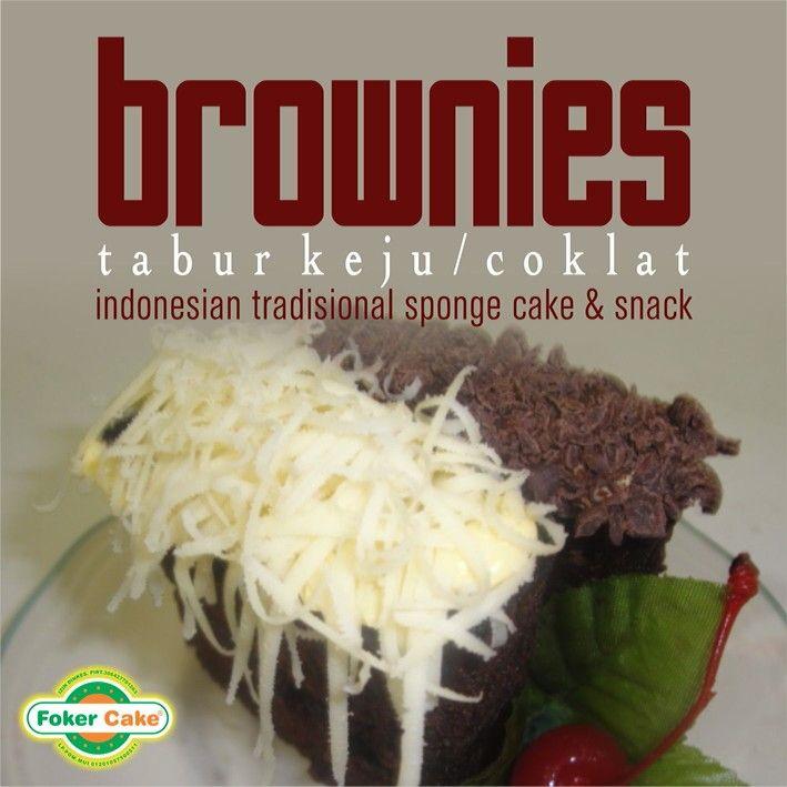 Brownies Tabur Keju/Coklat