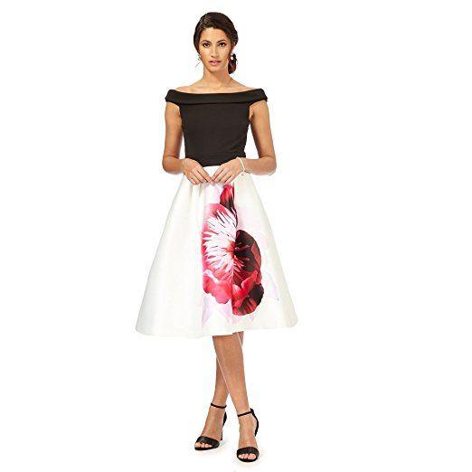 Debut Womens Multi-Coloured \'Miami\' Prom Dress 8. UK prom dresses ...