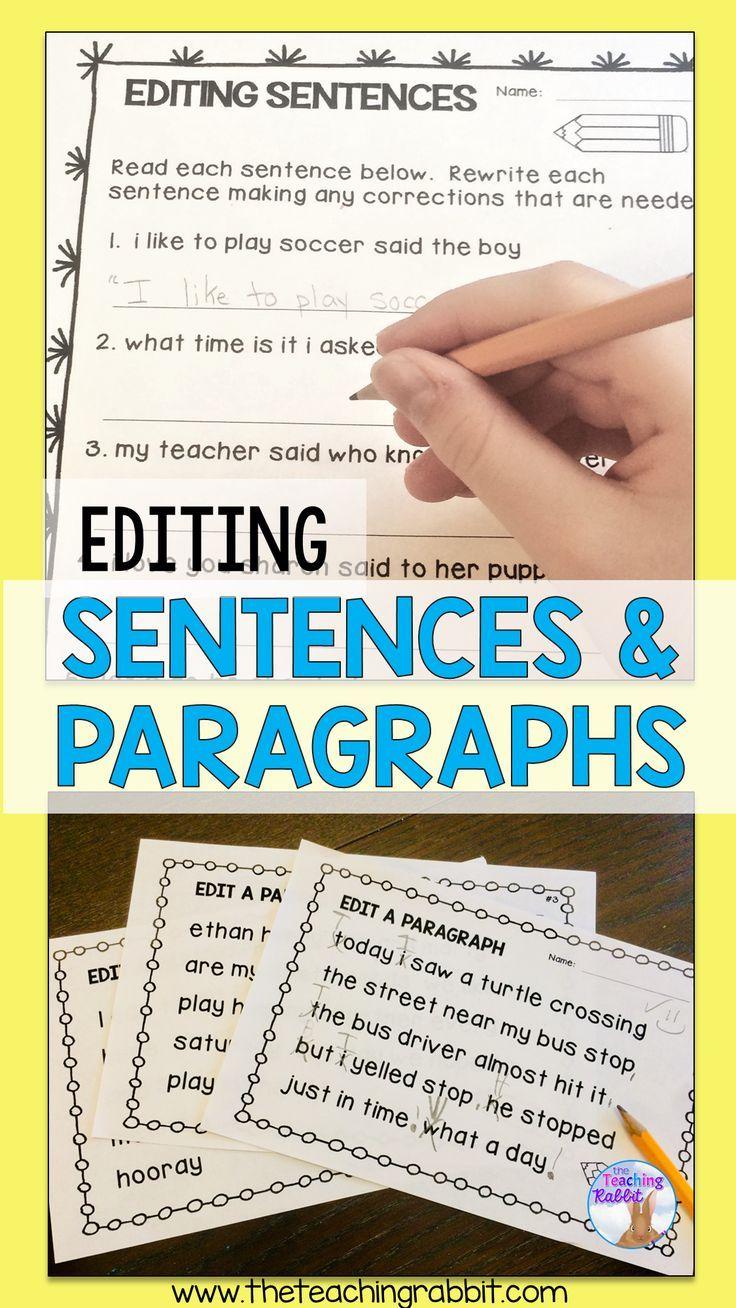 medium resolution of Sentence Editing   Sentence editing