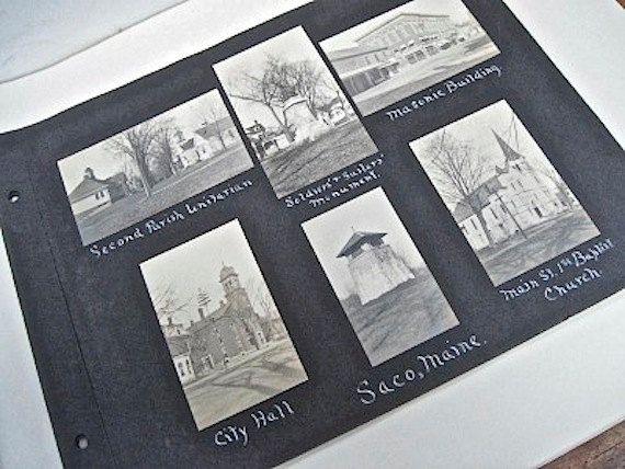 Saco Maine- Snapshot Photographs