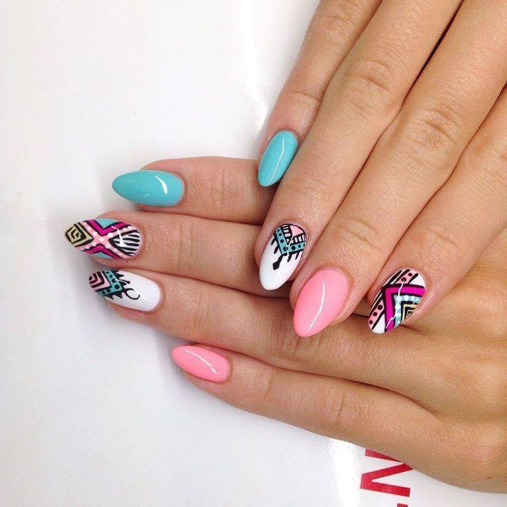 Pin by Barbara Neumann on paznokcie | Pinterest | Manicure, Nail ...
