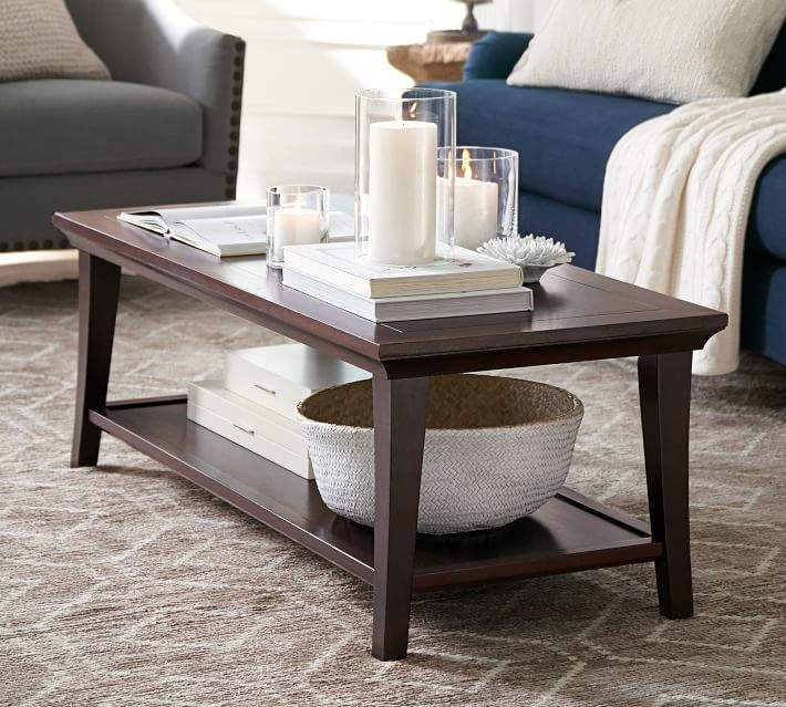 Pottery Barn Metropolitan Rectangular Coffee Table