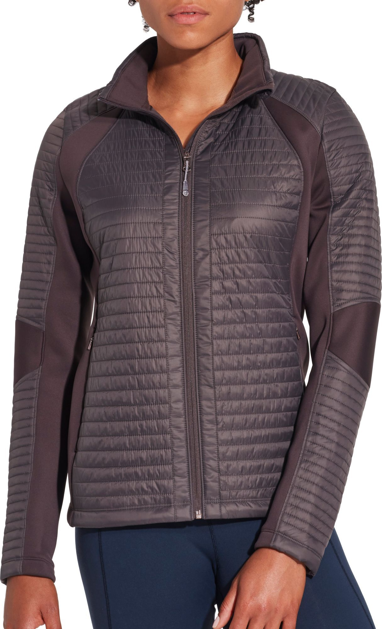 42e3d676d CALIA by Carrie Underwood Full Zip Puffer Hybrid Jacket | Products ...