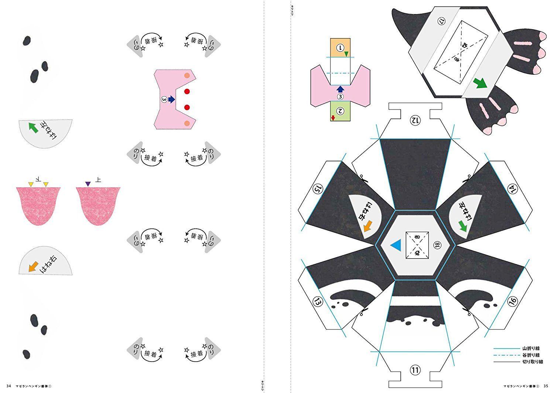 The Amazing Pop-Up Penguin Bomb papercraft  Origami Zombie version