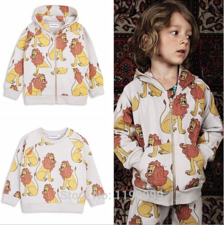 f46fc73cf3d9 Click to Buy    2017 spring autumn kids lion pattern cartoon kids ...