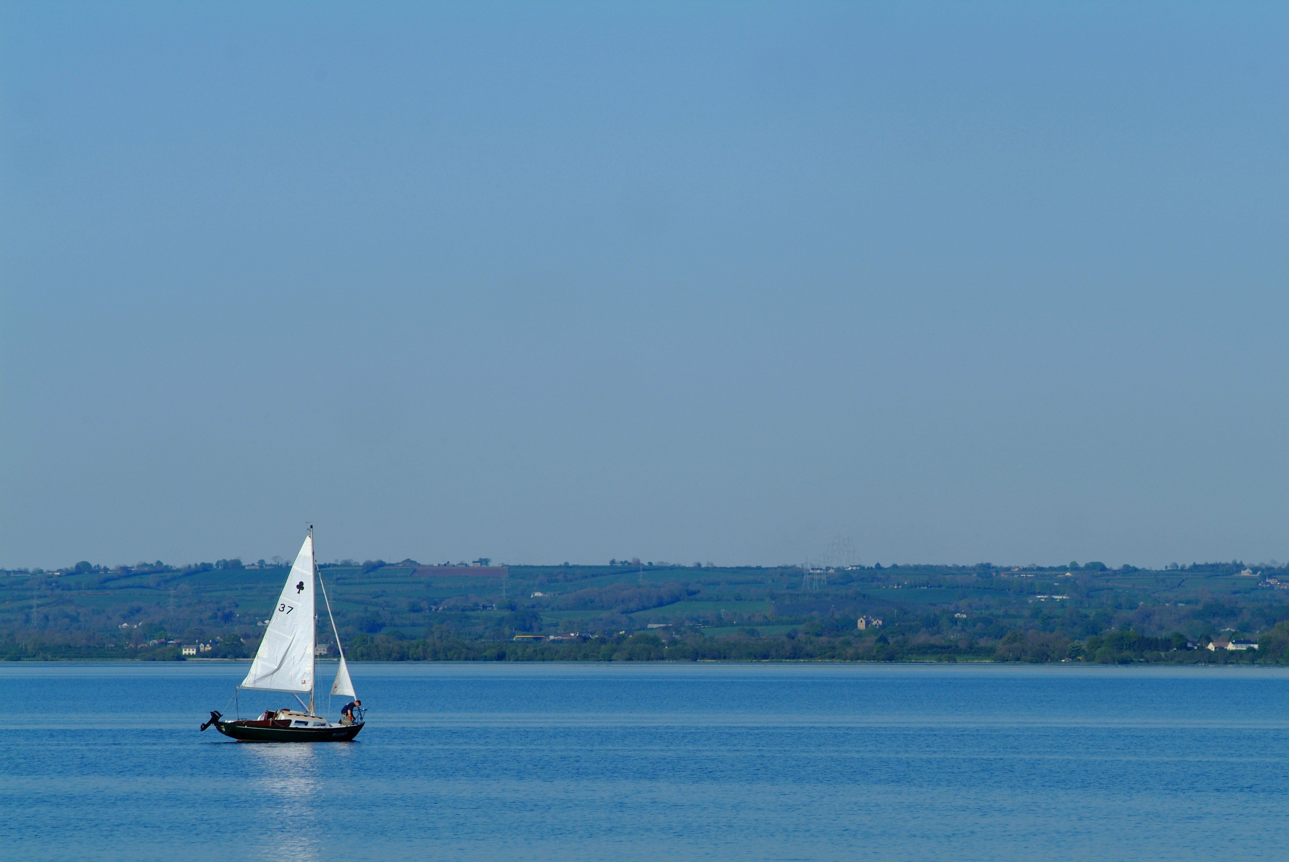 A boat on Lough Neagh