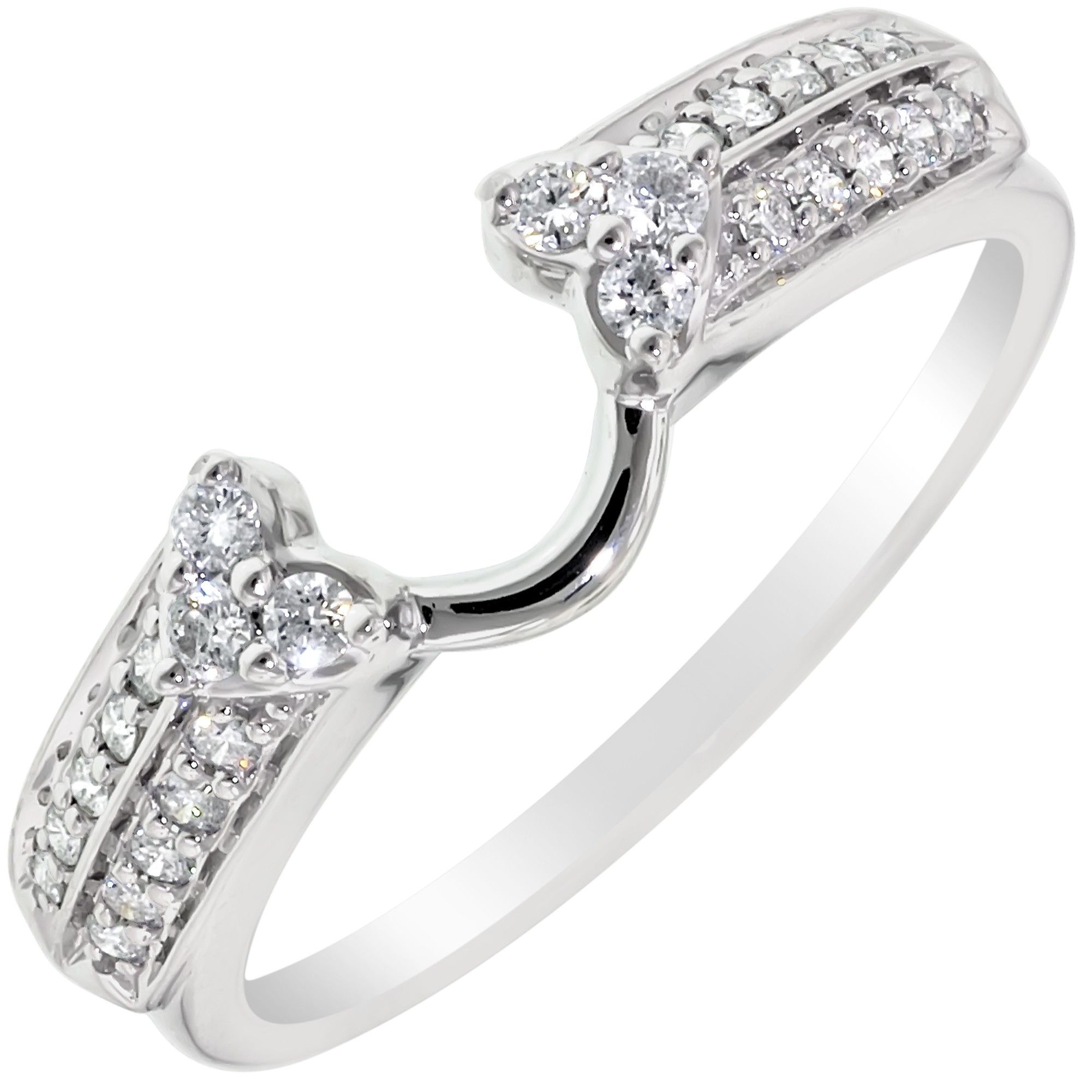 I love this one Heart wedding rings, Wedding ring wraps
