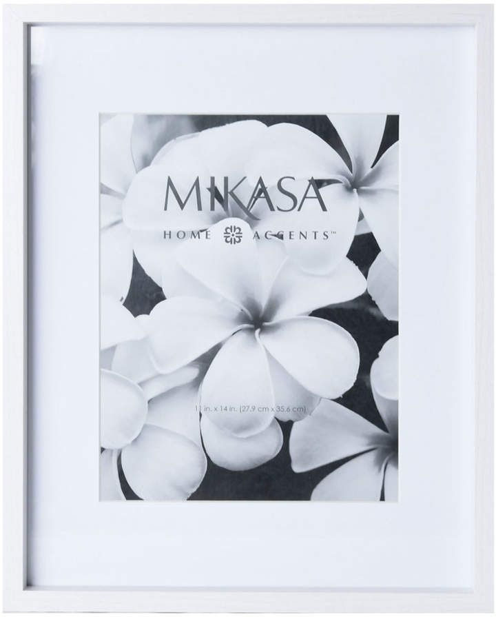 Mikasa 11 X 14 White Wood Frame Wood Frame Frame White Wood
