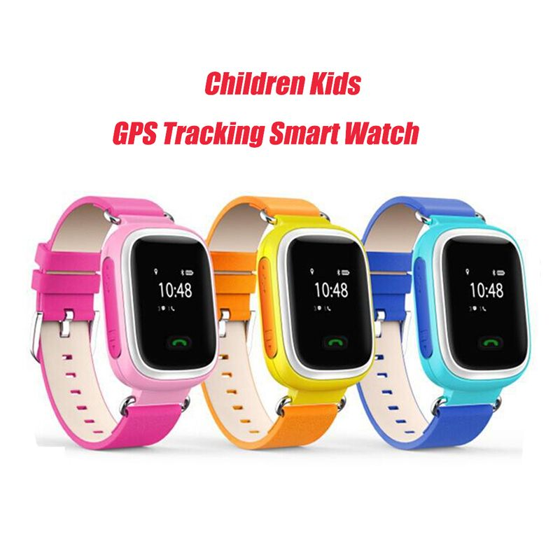 Kid gps tracking smart watch wristwatch sos call location