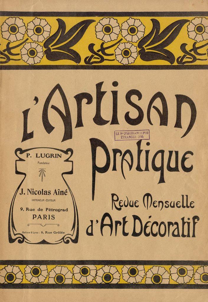 lu0027Artisan Pratique Vintage typography - la maison de l artisan