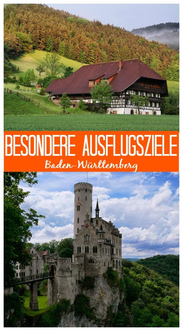 Besondere Ausflugsziele in BadenWürttemberg Ausflug