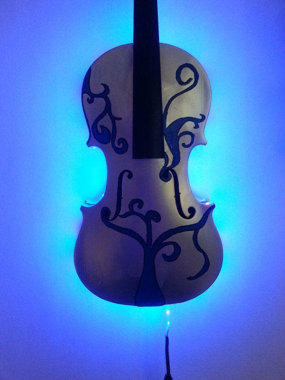 Wall Violin Light