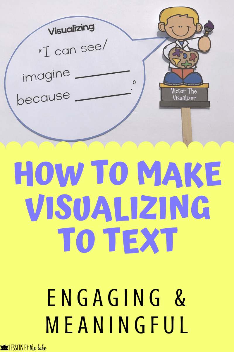 Visualizing is one of my favorite reading strategies to teach because mental images are SO POWERFUL! When I look at a menu, you bet I am visualizing what each