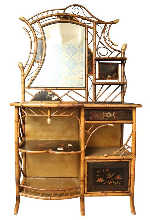 Early Victorian Bamboo J Adore Chinoiserie Bamboo