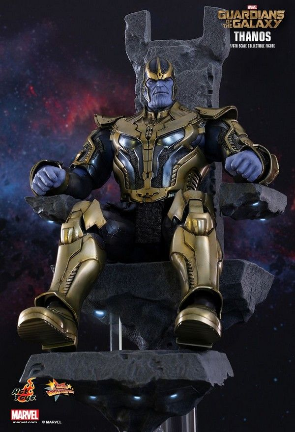 Thanos Collectible Figure Comes with His Floating Throne #geek #collectible #toys #movies