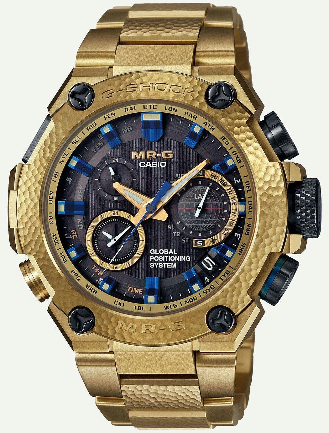 7ceb5b5f294 Casio G-Shock Gold Hammer Tone MRGG1000HG-9A Watch Relojes G-shock