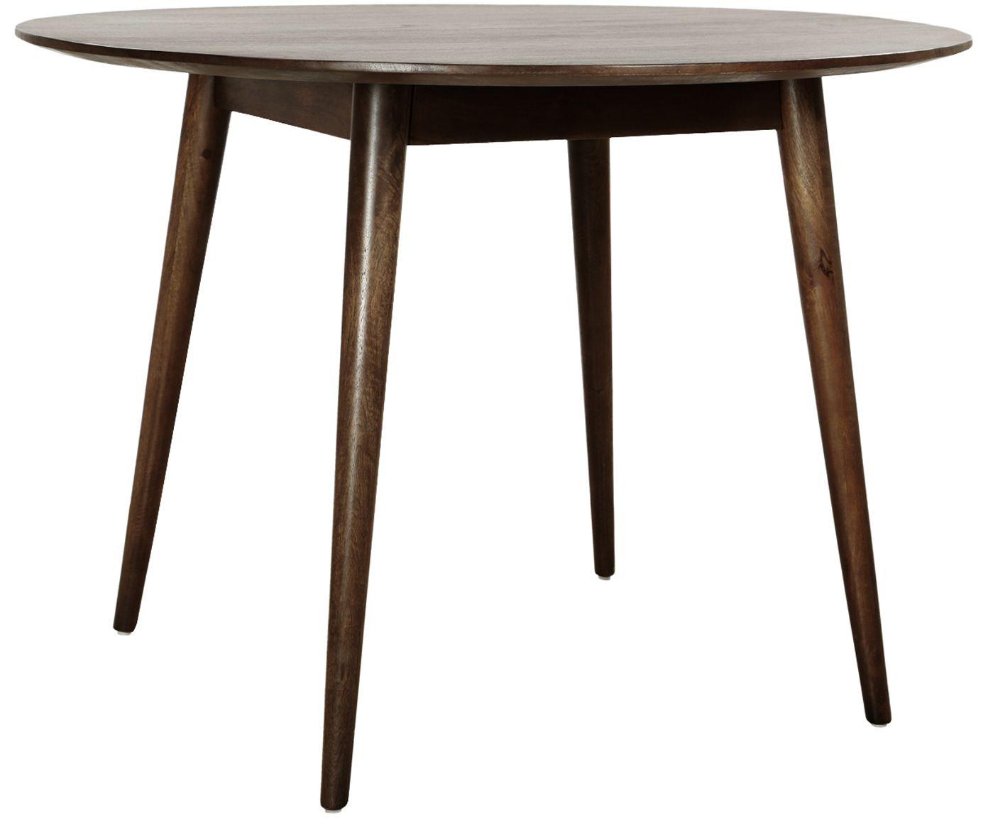 Danish Palisander Esstisch Rund 60er 70er Cj Rosengaarden Design