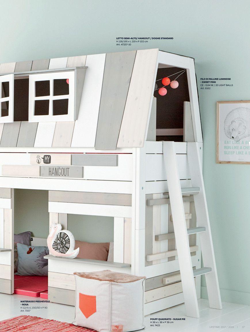 Letti A Castello Bassi.Mobili Lifetime Kidsrooms Letti Per Bambini Realizzati In Solido