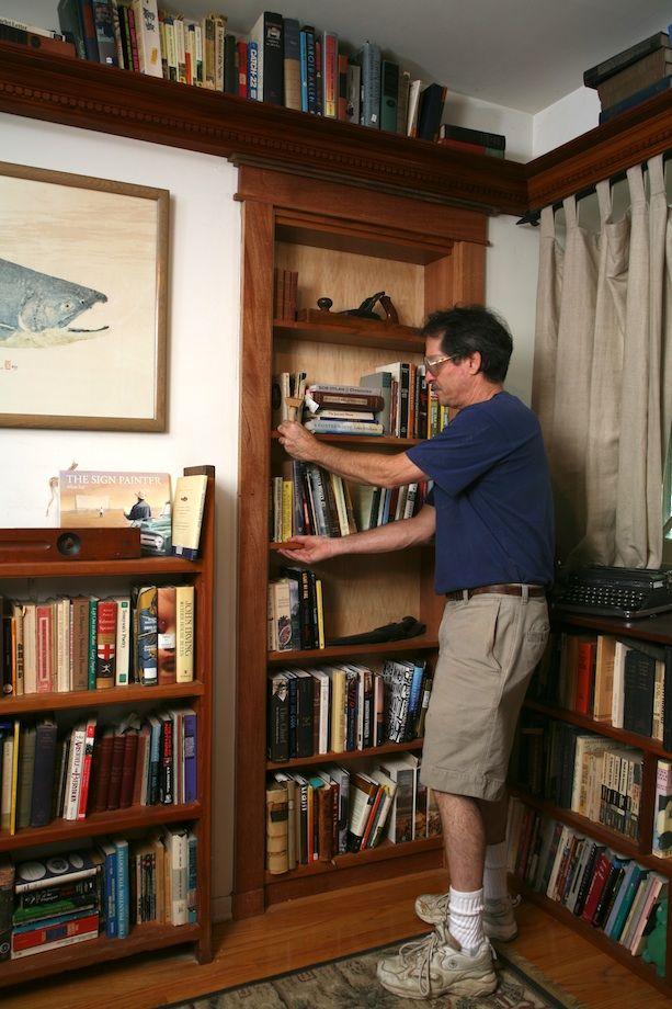 Step By Step To Build Hidden Door Bookshelf
