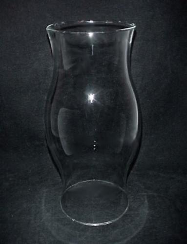 Superb Glass Hurricane Lamp Shade 4 5/8 Base X 11 1/2 H X 5 1/2 W Candle Holder  Light