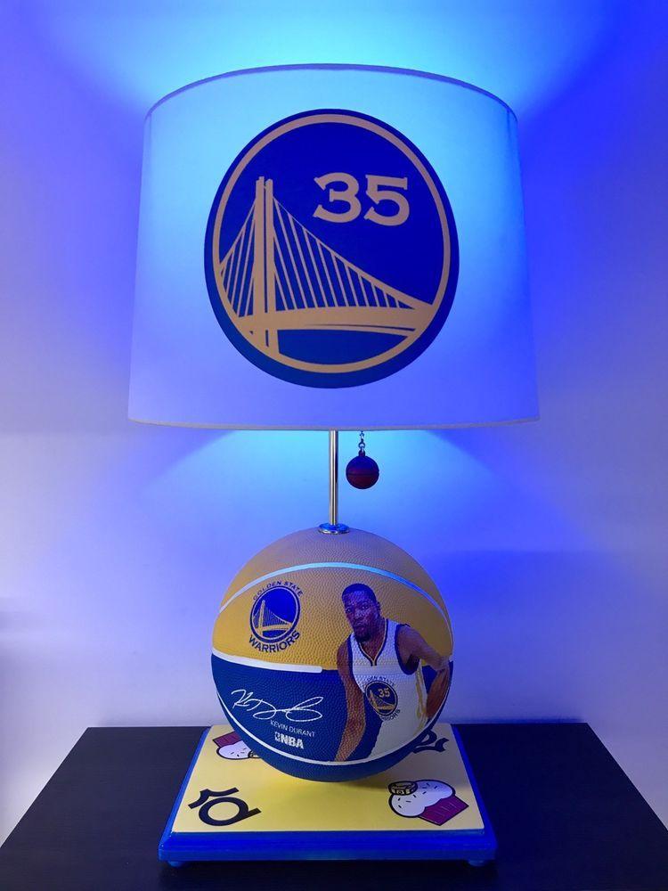 47555118 Kevin Durant Lamp Golden State Warriors Basketball Lamp NBA Sports Light KD    eBay