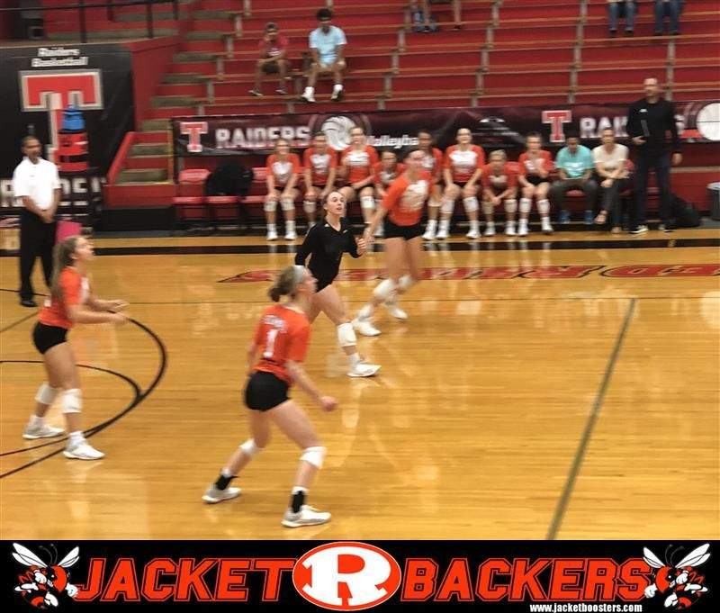 The Rockwall Lady Jackets Volleyball Varsity Team Easily Beats Tyler Lee As A Matter Of Fact The Trip Was Longer Than Th Jackets For Women Volleyball Varsity