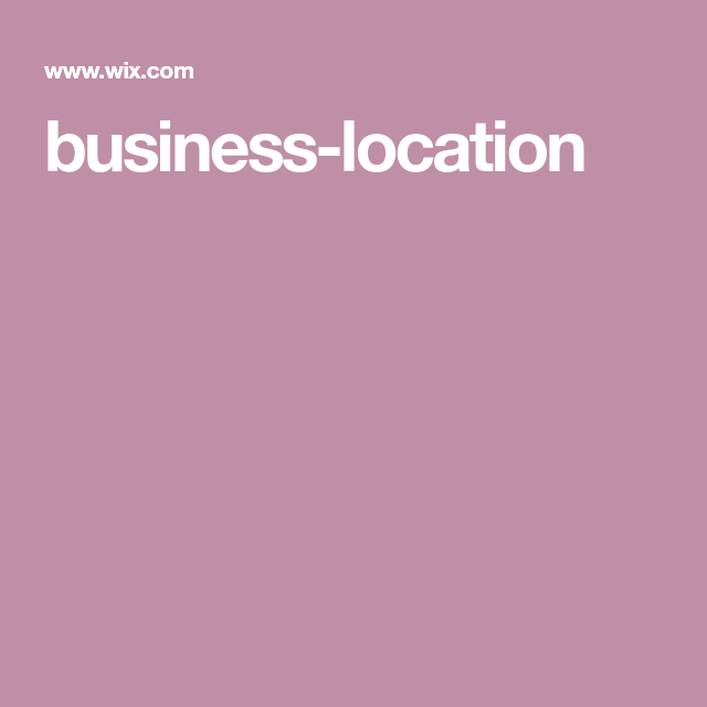 businesslocation (With images) Wix, Lawn care business