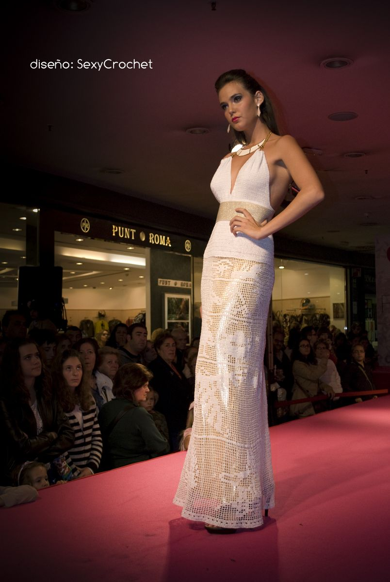 vestido egipcio, concurso de diseñadores jóvenes | SexyCrochetDesign ...