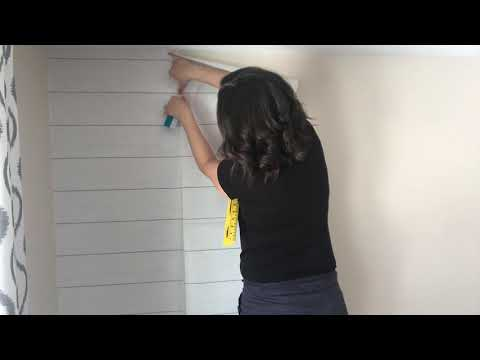 Tips Tricks And Sources For Temporary Wallpaper Faux Shiplap Wall Tutorial Youtube Temporary Wallpaper Faux Shiplap Ship Lap Walls