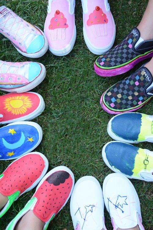 Concevez votre propre vans sneakers pour enfants atelier for Concevez et construisez votre propre maison