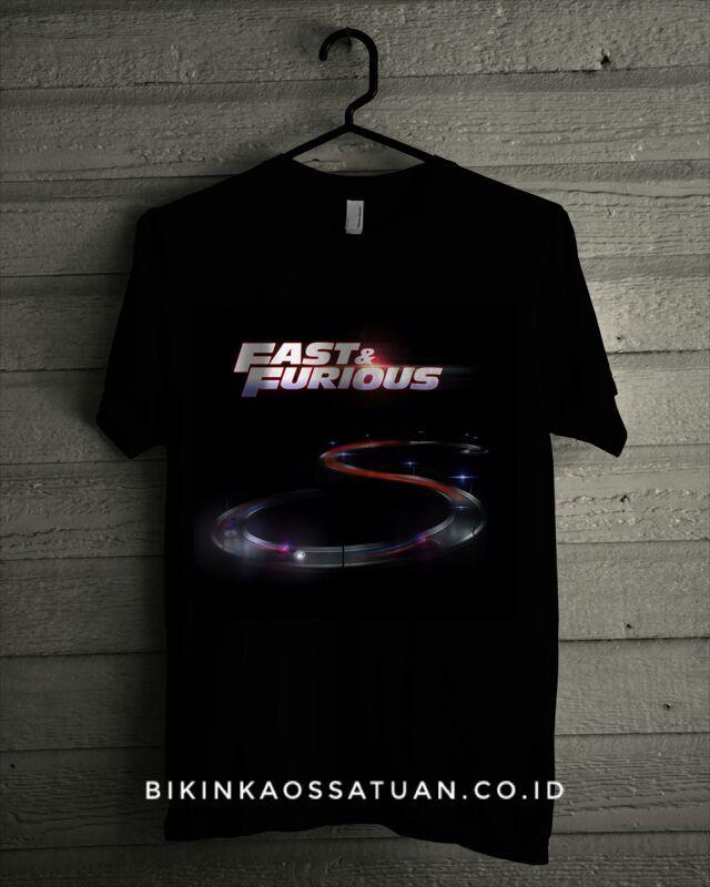 Kaos Fast And Furious 8 Logo - Bikin Kaos Satuan