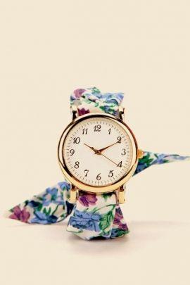 ساعات من ماركات عالمية ايف ارابيا Floral Watches Summer Accessories Girly Accessories