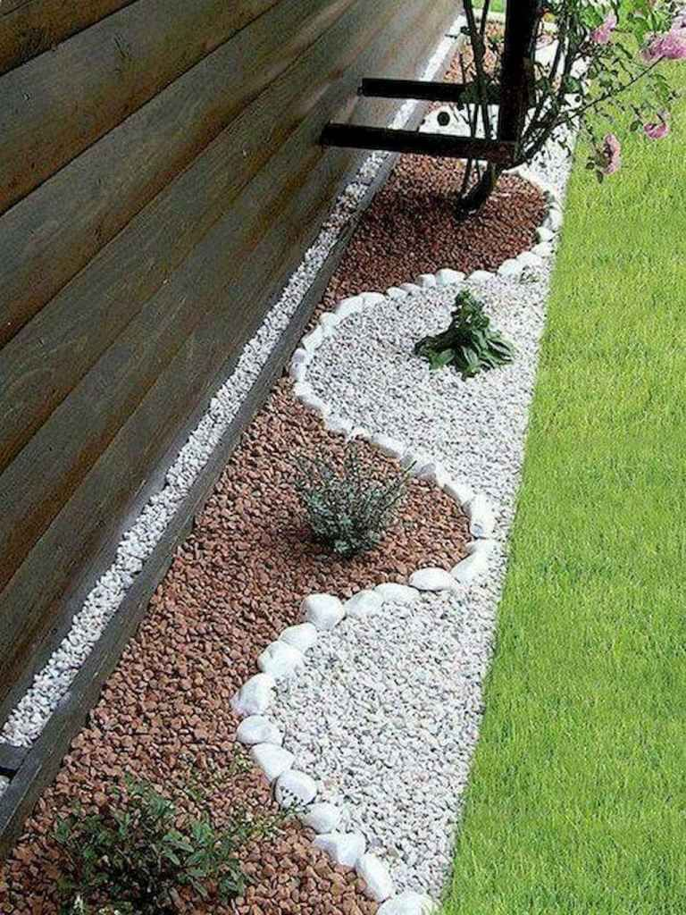 21 Gorgeous Front Yard Rock Garden Landscaping Ideas #steingartenideen